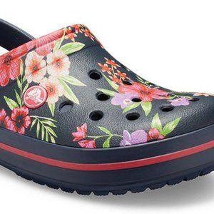 Classic floral Crocs